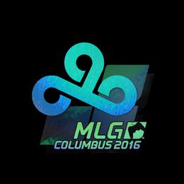 Наклейка | Cloud9 (голографическая) | Колумбус 2016