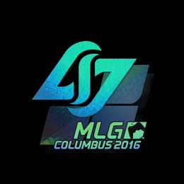 Наклейка | Counter Logic Gaming (голографическая) | Колумбус 2016