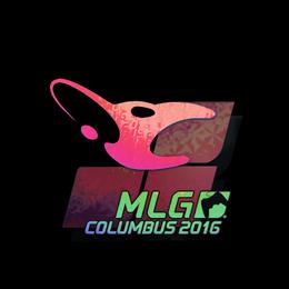 Наклейка | mousesports (голографическая) | Колумбус 2016