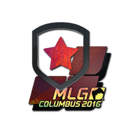 Наклейка | Gambit Gaming (голографическая) | Колумбус 2016