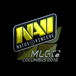 Наклейка | Natus Vincere (металлическая) | Колумбус 2016