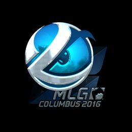 Наклейка | Luminosity Gaming (металлическая) | MLG Columbus 2016