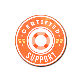 Наклейка | Поддержка