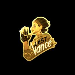 Наклейка / Last Vance (Gold)
