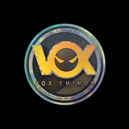Наклейка | Vox Eminor (голографическая) | Кёльн 2014
