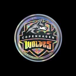 Наклейка | Copenhagen Wolves (голографическая) | Кёльн 2014