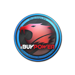 Наклейка | iBUYPOWER | Кёльн 2014