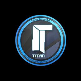 Наклейка | Titan | Кёльн 2014