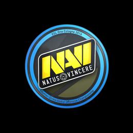 Наклейка   Natus Vincere   Кёльн 2014