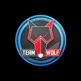 Наклейка | MTS GameGod Wolf | Кёльн 2014