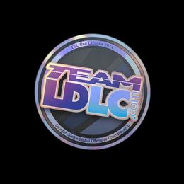 Наклейка | Team LDLC.com (голографическая) | Кёльн 2014