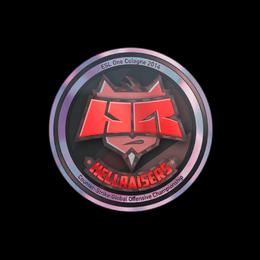 Наклейка | HellRaisers (голографическая) | Кёльн 2014