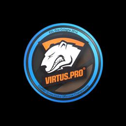 Наклейка   Virtus.Pro   Кёльн 2014