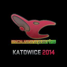 Наклейка | mousesports (голографическая) | Катовице 2014
