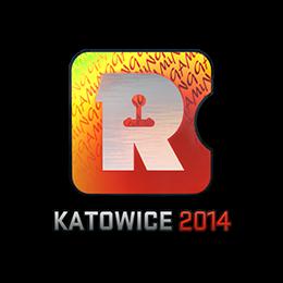 Наклейка   Reason Gaming (голографическая)   Катовице 2014