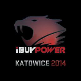 Наклейка   iBUYPOWER   Катовице 2014