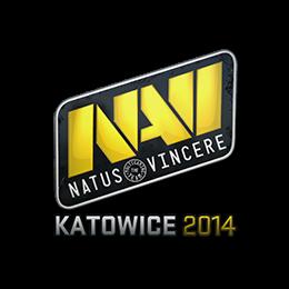 Наклейка | Natus Vincere | Катовице 2014