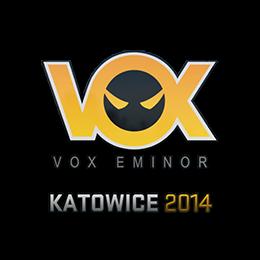 Наклейка   Vox Eminor   Катовице 2014