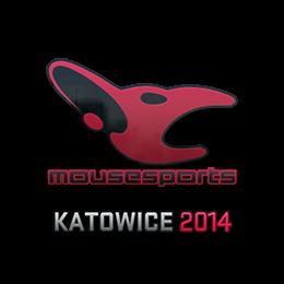Наклейка | mousesports | Катовице 2014