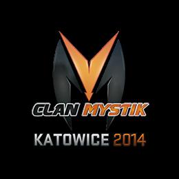Наклейка   Clan-Mystik   Катовице 2014
