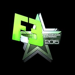 Наклейка | Flipsid3 Tactics (металлическая) | Клуж-Напока 2015