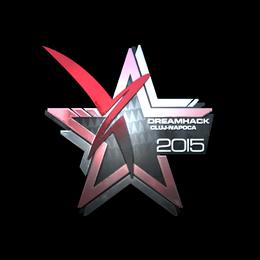 Наклейка | Vexed Gaming (металлическая) | Клуж-Напока 2015