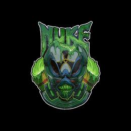 Наклейка | Ядерный зверь