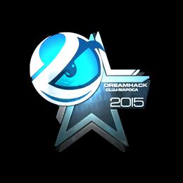 Наклейка | Luminosity Gaming (металлическая) | Клуж-Напока 2015
