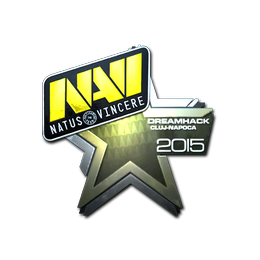 Наклейка | Natus Vincere (металлическая) | Клуж-Напока 2015