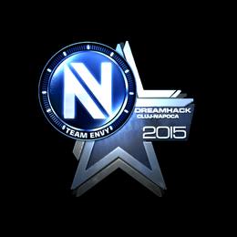 Наклейка | Team EnVyUs (металлическая) | Клуж-Напока 2015