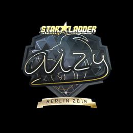 Наклейка | aizy (золотая) | Берлин 2019
