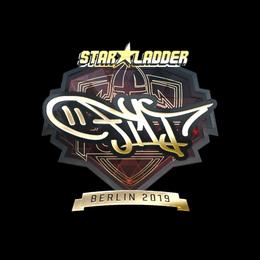 Наклейка | FL1T (золотая) | Берлин 2019