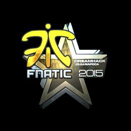 Наклейка | Fnatic (металлическая) | Клуж-Напока 2015