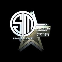 Наклейка | Team SoloMid (металлическая) | Клуж-Напока 2015