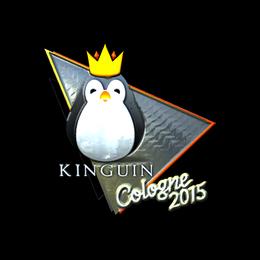 Наклейка | Team Kinguin (металлическая) | Кёльн 2015