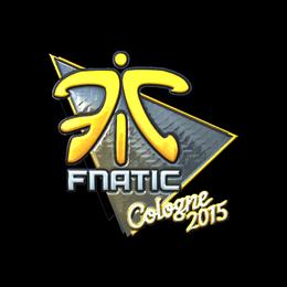 Наклейка | Fnatic (металлическая) | Кёльн 2015