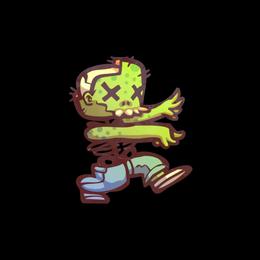 Наклейка | Зомби