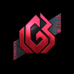 Наклейка | LGB eSports (металлическая) | Катовице 2015