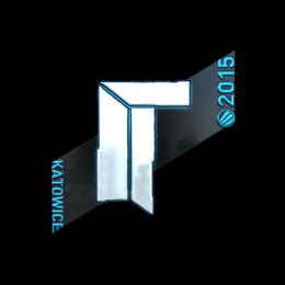 Наклейка | Titan (металлическая) | Катовице 2015