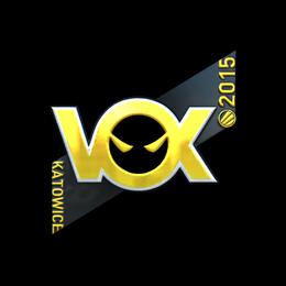 Наклейка   Vox Eminor (металлическая)   Катовице 2015