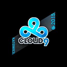 Наклейка | Cloud9 G2A (металлическая) | Катовице 2015