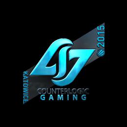 Наклейка | Counter Logic Gaming (металлическая) | Катовице 2015
