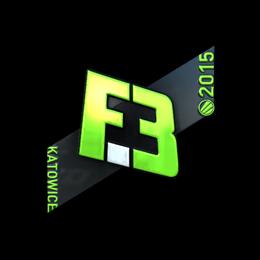 Наклейка | Flipsid3 Tactics (металлическая) | Катовице 2015
