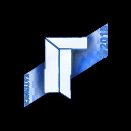 Наклейка | Titan (голографическая) | Катовице 2015