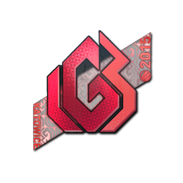 Наклейка   LGB eSports (голографическая)   Катовице 2015