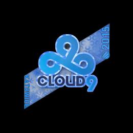 Наклейка | Cloud9 G2A (голографическая) | Катовице 2015
