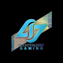 Наклейка | Counter Logic Gaming (голографическая) | Катовице 2015