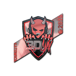 Наклейка | 3DMAX (голографическая) | Катовице 2015