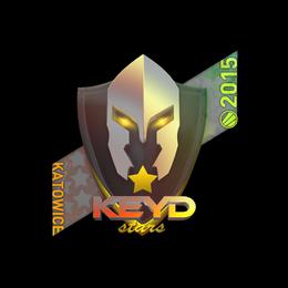 Наклейка | Keyd Stars (голографическая) | Катовице 2015
