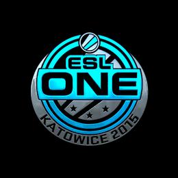 Наклейка | ESL One (металлическая) | Катовице 2015